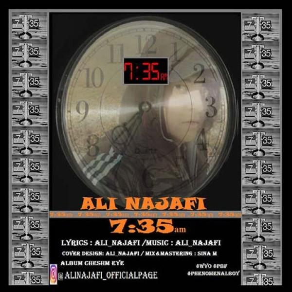 دانلود آهنگ علی نجفی به نام ۷:۳۵
