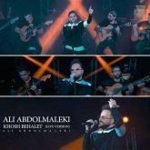دانلود آهنگ علی عبدالمالکی خوش بحالت (اجرای زنده)
